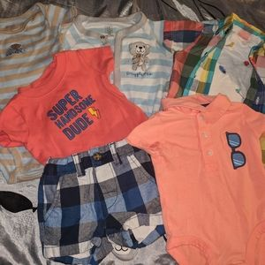 Carter's lot of 7 size 3 months